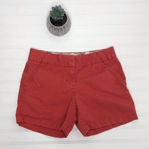 J Crew chino city fit shorts 0